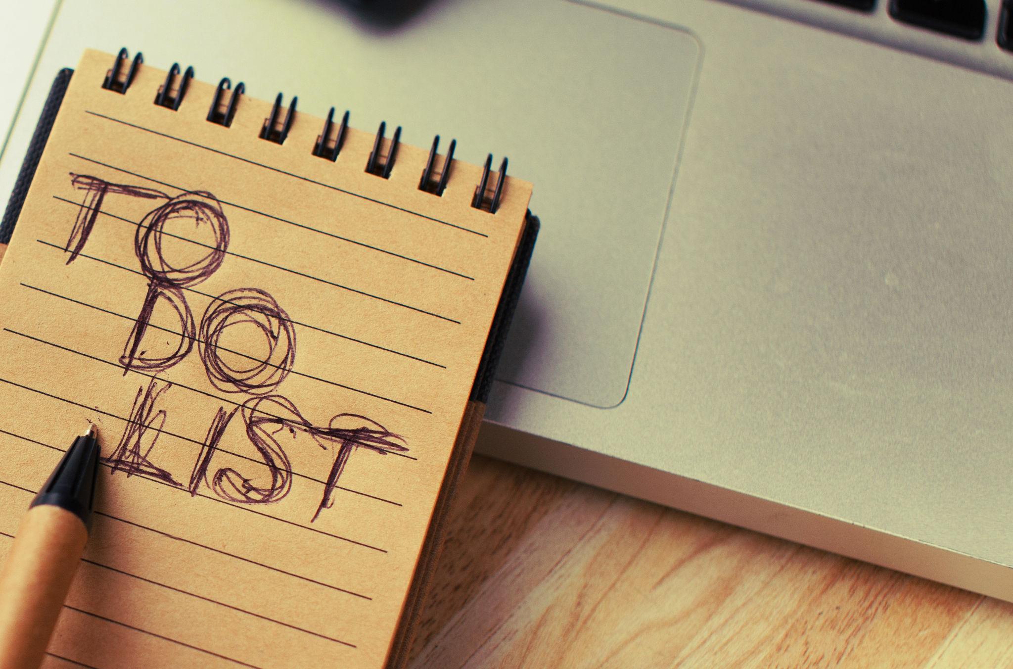 Die ToDo-Liste als grundlegendes Aufgabenmanagement-Werkzeug